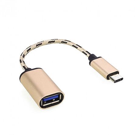 Cáp OTG Chuyển Đổi Type-C Sang USB