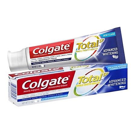 Kem đánh răng Colgate Total Advanced Whitening 181g - Mỹ
