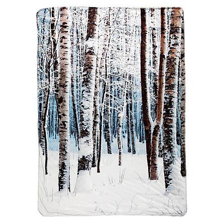 Chăn Sofa Morganit Polyester JYSK (140 x 200 cm) - Họa Tiết Cây