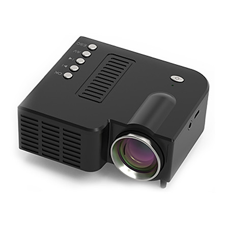 UC28C Projector LED Projector Durable Christmas Gift 10-60 Inch Children Teaching