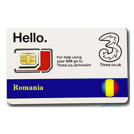 Sim du lịch Romania 4G tốc độ cao