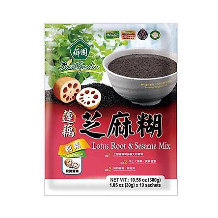 Bột vừng mix củ sen Sweet Garden - 30g*10 gói