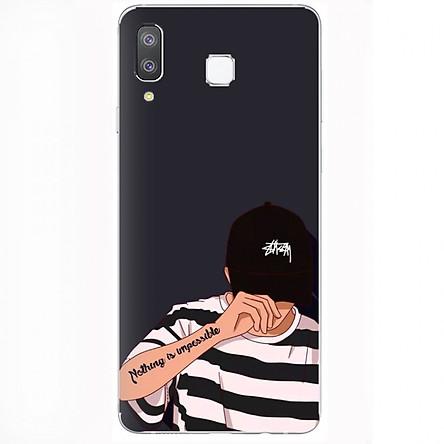 Ốp lưng cho điện thoại Samsung Galaxy A8 Star (A9 Star) - hình F112