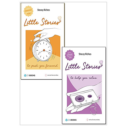 Combo Little Stories - To Help You Relax & To Push You Forward (Bộ 2 Cuốn)