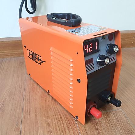 Máy hàn điện tử, máy hàn mini GGG420, máy hàn que 2,5 -Bộ phụ kiện đầy đủ dây hàn + dây mát+ kèm kẹp, mo hàn