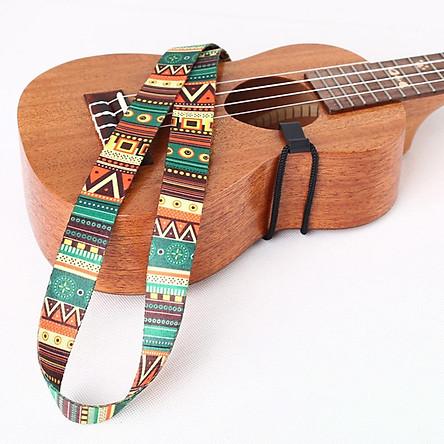 Dây Đeo Đàn Guitar Họa Tiết Thổ Cẩm Ukulele (80cm)