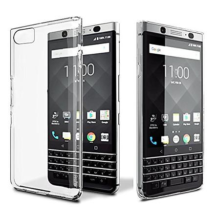 Ốp lưng silicon dẻo trong suốt dành cho BlackBerry KEYone siêu mỏng- Hàng nhập khẩu