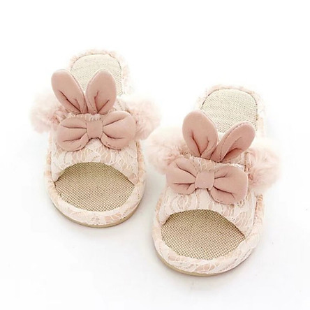 Cotton Children Slippers Winter Girls Baby Cartoon Indoor Shoes Boys Warm Anti-Slip Soft Soled Shoes Home Slippers Kids Shoes
