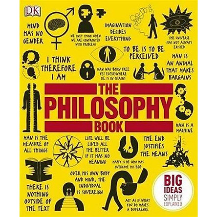 DK The Philosophy Book (Series Big Ideas Simply Explained)