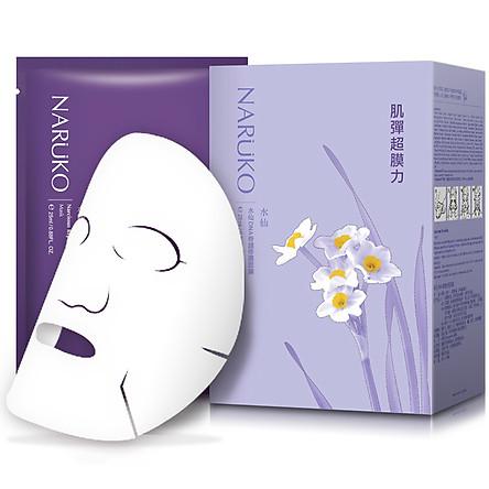 Naruko Hoa Thủy Tiên - Hộp 10 Miếng Mặt Nạ Phục Hồi Naruko Narcissus Repairing Mask (25ml / Miếng)