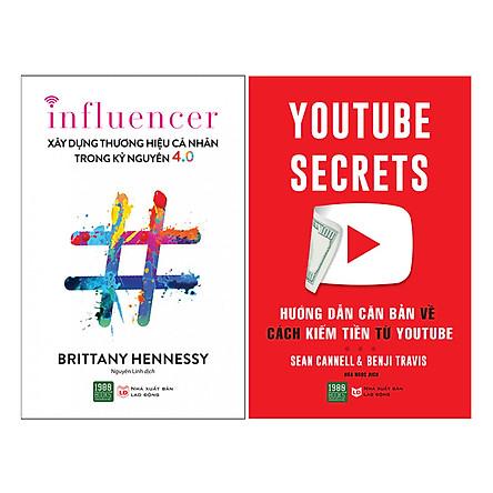 Combo Hướng Dẫn Căn Bản Về Cách Kiếm Tiền Từ Youtube + Xây Dựng Thương Hiệu Cá Nhân Trong Kỷ Nguyên 4.0 ( 2 Cuốn )