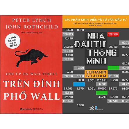 Combo Sách - Trên Đỉnh Phố Wall + Nhà Đầu Tư Thông Minh