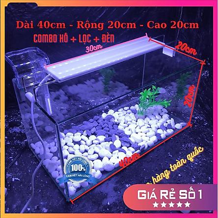 Bể cá mini 40cm