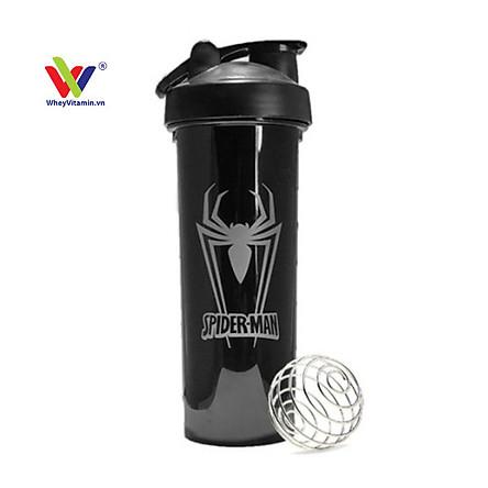 Bình Lắc Tập Gym ️Bình nước đa năng️ Bình lắc Shaker Thể -Siêu Anh Hùng Marvel 700ml (Chất liệu nhựa cao cấp)