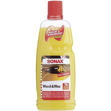 Nước rửa xe Sonax Wash and Wax 1000 ml 313341