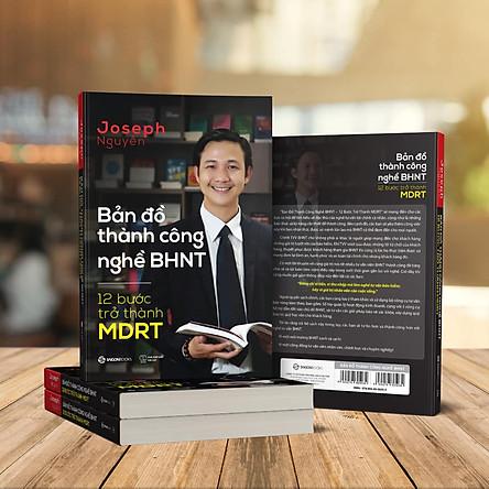 Sách Bản Đồ Thành Công Nghề BHNT - 12 Bước Trở Thành MDRT