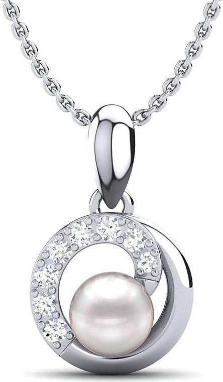 Mặt dây chuyền bạc đính ngọc trai PNJSilver PFXMK000007-BO
