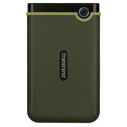 Ổ Cứng Di Động Transcend StoreJet M3G 2TB Slim USB 3.1 - Hàng Chính Hãng
