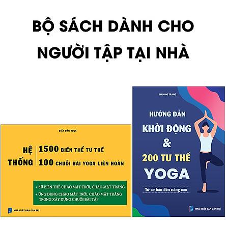Combo sách Tự tập yoga tại nhà