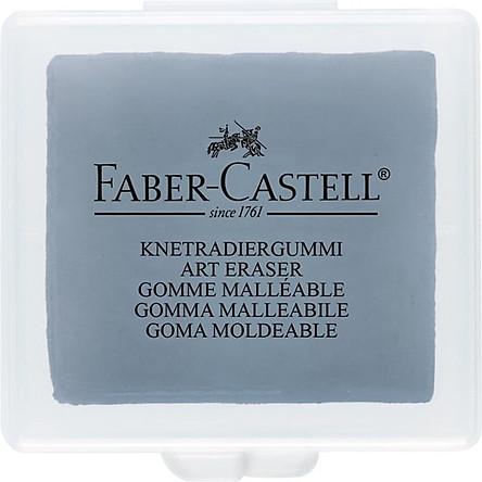 127220-Gôm Đất Sét Màu Xám/Hôp Nhựa-Faber-Castell