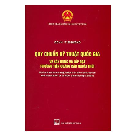 QCVN 17 : 2018/BXD Quy Chuẩn Kỹ Thuật Quốc Gia Về Xây Dựng Và Lắp Đặt Phương Tiện Quảng Cáo Ngoài Trời
