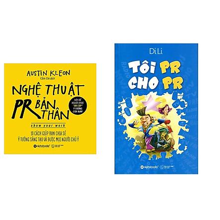Combo Sách Kĩ Năng Kinh Doanh: Tôi PR Cho PR + Nghệ Thuật PR Bản Thân