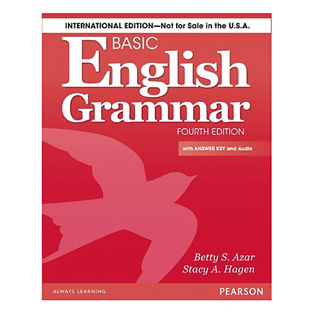 Longman'S Basic English Grammar: Student Book With 2 CDs And Answer Key (4Rd Edition)