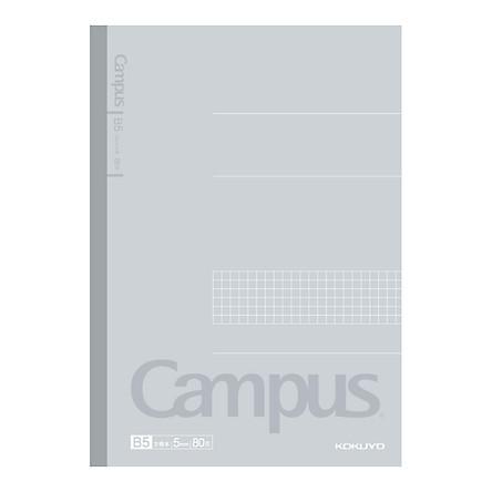 Lô 4 Tập Vở Ô Ly Campus KOKUYO WCN-CNB1810-1 (80 Trang)