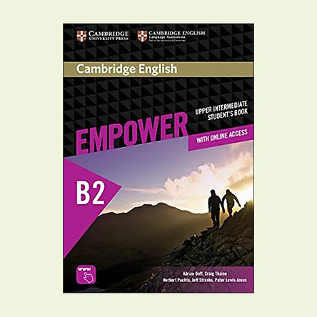 Cambridge English Empower Upper Intermediate Student's Book with Online Assessment and Practice, and Online Workbook: Upper intermediate