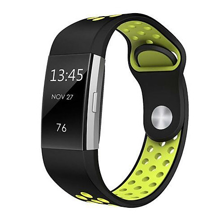 Dây Đeo Silicon Mềm Thay Thế Cho Đồng Hồ Fitbit Charge 2