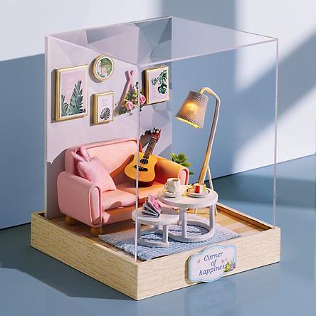 Mô Hình Nhà Gỗ DIY - Corner Of Happiness