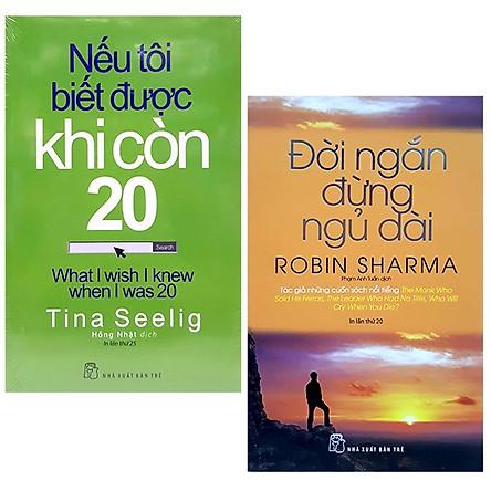Bộ Sách Đời Ngắn Đừng Ngủ Dài + Nếu Tôi Biết Được Khi Còn 20 (Bộ 2 Cuốn)