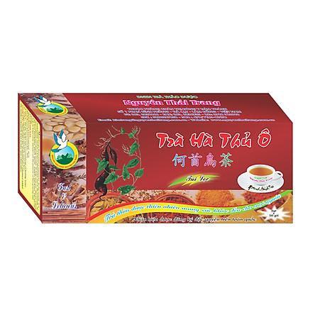 Trà Hà Thủ Ô Giúp Đen Tóc (Hộp 50 Túi Lọc X 2g) - Nguyên Thái Trang – Thảo Dược Thiên Nhiên – Tốt Cho Sức Khỏe