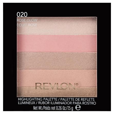 Revlon Blush Highlight Palett Rose Glow