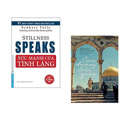 Combo 2 cuốn sách: Sức Mạnh Của Sự Tĩnh Lặng + Con đường hồi giáo  (Tái bản)