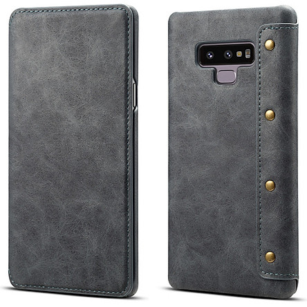 Bao Da Special Cho Samsung Galaxy Note 9 Màu Xám