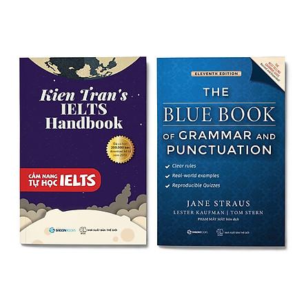 Combo 2 Cuốn Học Tiếng Anh: Cẩm Nang Tự Học Ielts + The Blue Book of Grammar and Punctuation (Tái Bản)