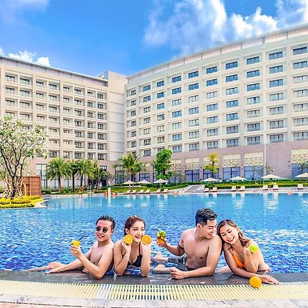 Vinpearl VinOasis Resort 5* Phú Quốc - Buffet Sáng, Vui Chơi VinWonders & Vinpearl Safari, Công Viên Nước, Hồ Bơi, Đón Tiễn Sân Bay