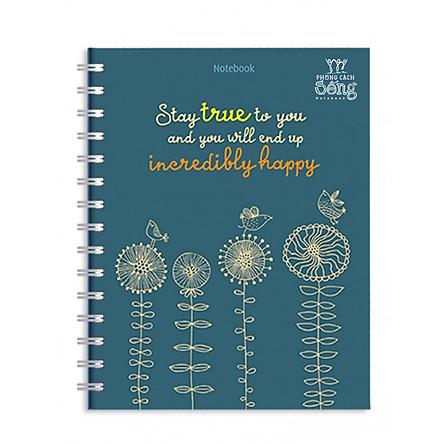 Sổ Lò Xo Notebook Minh Long - Stay True To You