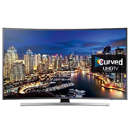 Smart Tivi Cong 4K Samsung 55 inch UA55JU7500  - Hàng chính hãng