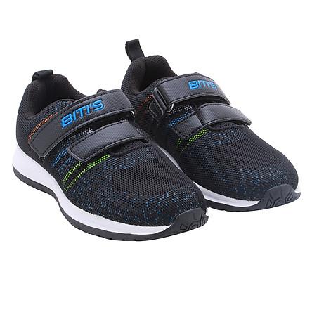 Giày Thể Thao Lưới Dệt Bé Trai Biti's DSB127200DEN - Đen