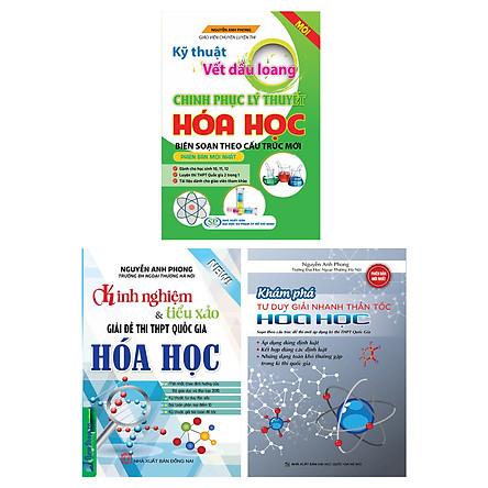 Combo Bộ Sách Luyện Thi THPT Quốc Gia Môn Hoá Tác Giả Nguyễn Anh Phong