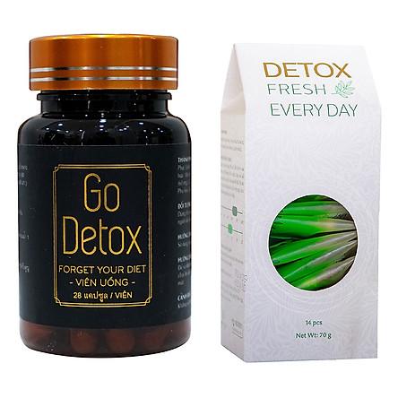 Bộ Giảm Cân Go Detox - Detox Fresh 150g