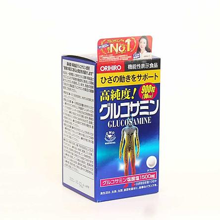 Thực phẩm bảo vệ sức khỏe – Hỗ trợ xương khớp Viên uống Glucosamin Orihiro 1500mg Nhật Bản 900 viên