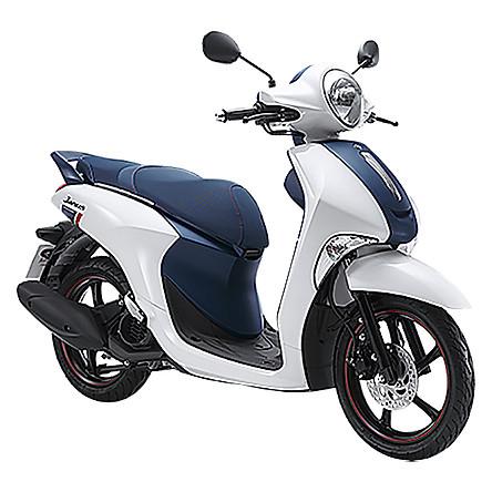 Xe May Yamaha Janus Limited Premium - Trắng Xanh