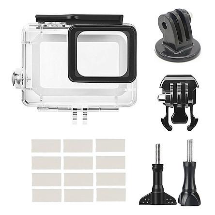 For Gopro hero 5 / 6 Hero 2018 /hero7 Black Camera 45M Waterproof Shockproof Case Accessory Kit