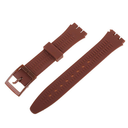 17mm Silicone Rubber Watch Strap Band Waterproof Watchbands Lots Color Pick