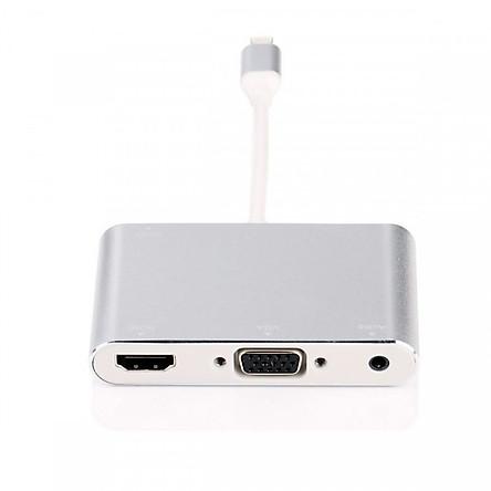 Cáp lightning to HDMI/ VGA/ AV có ngõ âm thanh riêng cho loa - FullHD 1080P