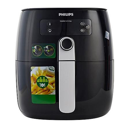 Nồi chiên không dầu Philips HD9643 1425W (Đen) - Hàng Chính Hãng