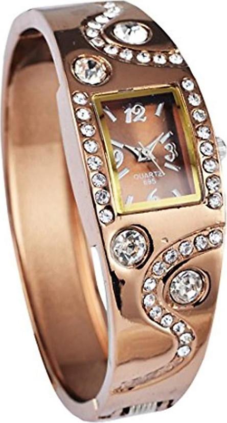 Women's Bracelet Style Analog Quartz Metal Watch WTH1028